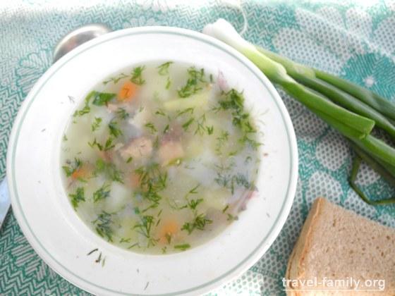 Что приготовить на костре: Суп