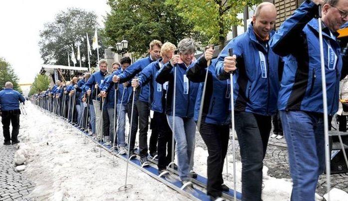Интересные факты о лыжах: Самые длинные в мире лыжи
